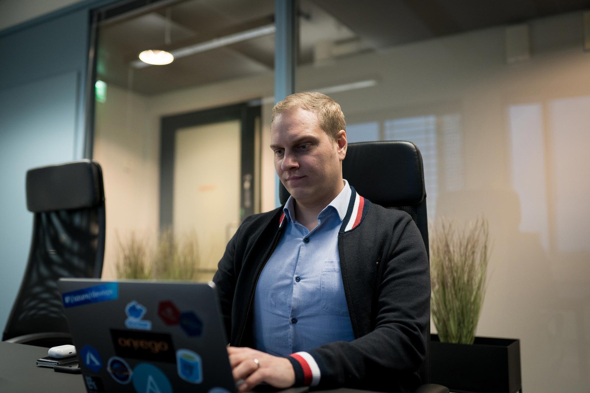 Juuso Saranki, Lead Cloud Architect työssään